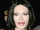 Pete Burns reveals that he likes to change his face regularly because he gets bored of it.