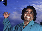 "James Brown's daughter claims that the soul singer's body has ""disappeared""."