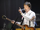 160x120 - Paul McCartney performing at the Brits 2008