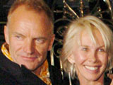 160x120 Sting and Trudie Styler leaving Scotts Restaurant in Mount Street
