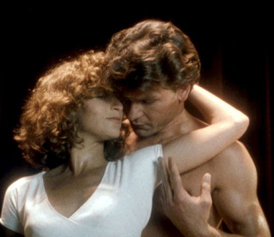 Jennifer Grey and Patrick Swayze in <em>Dirty Dancing</em>, 1987