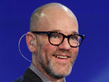 Michael Stipe of REM at 'Che Tempo Che FA' TV programme, Milan