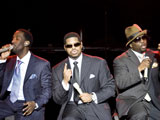 Boyz II Men in concert, Nice, France