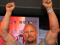 Steve Austin admits that he 'ended up breaking Sly's neck' while filming a fight scene.