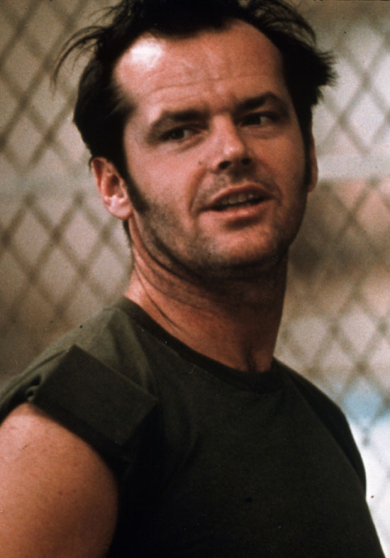 Next Jack as R P  McMurphy in One Flew Over the Cuckoo s Nest   1975
