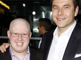 Matt Lucas and David Walliams at 'Run Fatboy Run' Film Premiere at the Arclight cinema Hollywood, Los Angeles