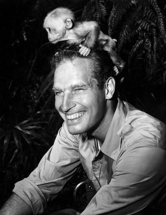 Previous Net Charlton Heston On The Set Of Naked Jungle