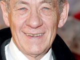 Ian McKellan at 'Speed Racer' film premiere, London