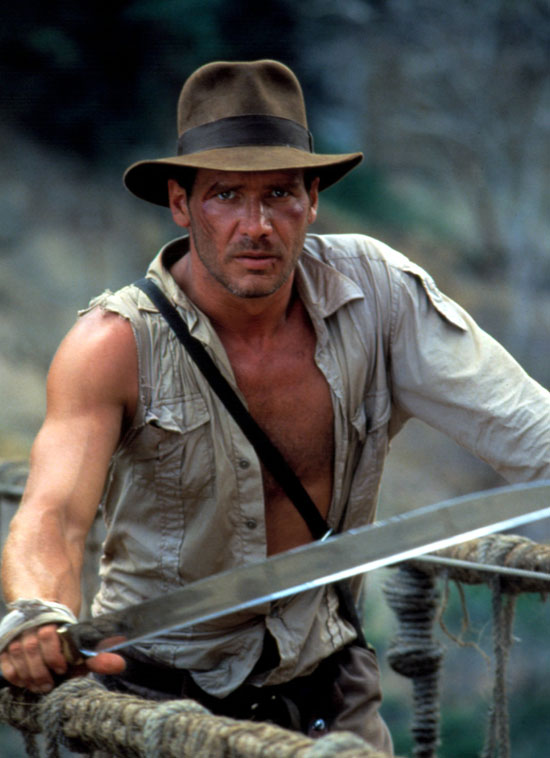 Harrison Ford: The sexiest man ever to wear a fedora.