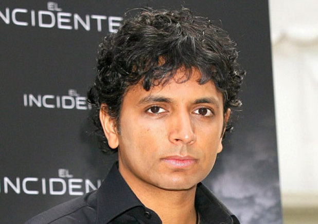 Director M. Night Shyamalan posing for  'The Happening' Film Photocall in Madrid
