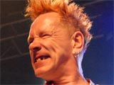 John Lydon of the Sex Pistols in concert at 'the Joint' in Las Vegas, America