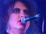 Robert Smith in concert with The Cure at Radio City Music Hall, New York, America