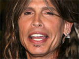 Steven Tyler at the 'Guitar Hero: Aerosmith' video game launch press conference in New York, America