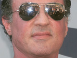 Sylvester Stallone at the topping off ceremony of the Planet Hollywood Hotel and Casino in Las Vegas
