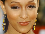 Tia Mowry at the &#39;Hancock&#39; film premiere, Los Angeles