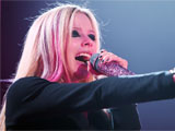 Avril Lavigne In Concert at The O2 Arena, Prague