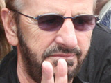 Ringo Starr celebrates his 68th birthday with a 'Peace and Love Moment'