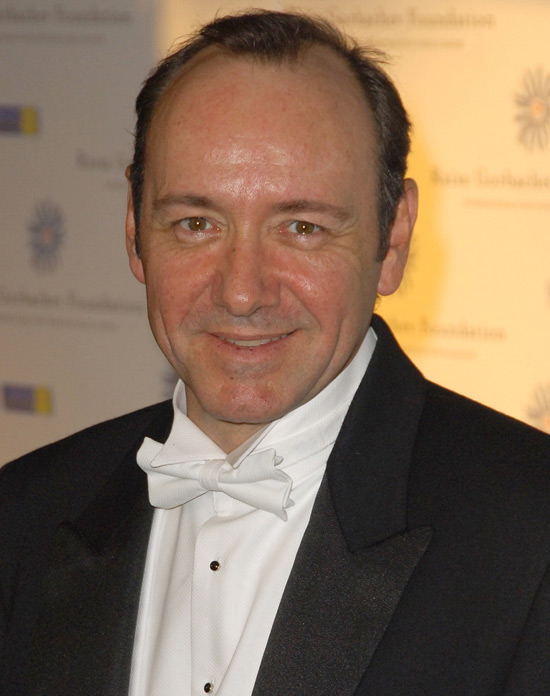 Kevin Spacey - The actor-turned-theatre impresario is 49 on Saturday