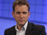 Jeremy Kyle on set of his ITV1 show