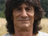 The Rolling Stones' Ronnie Wood taking his daily walk about as apart of his rehab, in Woking, Surrey, Britain