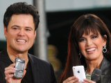 Donny and Marie Osmond performing on ABC's 'Good Morning America'