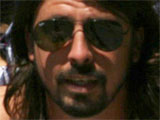 Dave Grohl with daughter Violet Maye at the Studio City Famer&#39;s Market, in California, America