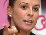 Coleen Rooney signs copies of her new book 'Coleen's Real Style' in WHSmiths at Lakeside Shopping Centre
