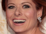 Debra Messing at 'The Women' Film Premiere