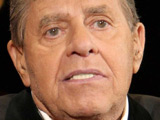 Jerry Lewis raising a record $65 million for the Muscular Dystrophy Association in his annual Labor Day telethon