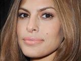 Eva Mendes at Calvin Klein show for Spring / Summer 2009, Mercedes-Benz Fashion Week
