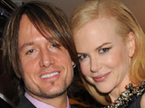 Keith Urban and Nicole Kidman at The National Movie Awards 2008