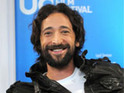 Adrien Brody says he got rid of his two male goats after a sexually aggressive episode between them.