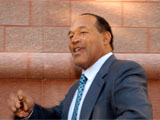 OJ Simpson Arrives at Clark County Court for Day 2 of His Jury Trial, Las Vegas