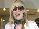 Natasha Bedingfield leaving the Morning Show in New York, America