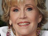 Jane Fonda at the  Metropolitan Opera House, New York