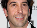 A friend of David Schwimmer reportedly denies that he is upset with Jennifer Aniston.