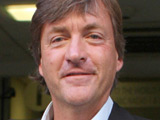 Richard Madeley leaving the studios of Radio 1