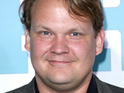 Andy Richter says that he is pleased to hear that Jay Leno's viewership has dropped.