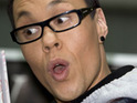 Gok Wan admits that the first male guest on How To Look Good Naked did not want to co-operate.