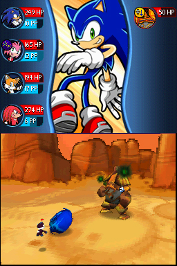 Sonic Chronicles on DS