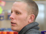 Laurence Fox shopping for his wife Billie Piper who has just given birth to a baby boy, Winston James