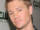 Chad Michael Murray with fiancee Kenzie Dalton on the &#39;CW11 Morning Show&#39; 