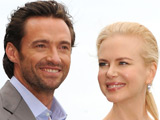 Hugh Jackman and Nicole Kidman at the 'Australia' film premiere press conference