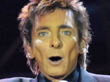Barry Manilow in concert at the O2 Arena