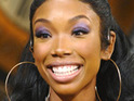 Singer Brandy remains coy about her rumored relationship with rapper Flo Rida.