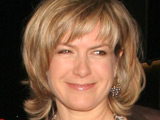 Penny Smith at the Penny Smith 2008 Costa Book of the Year Awards