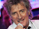 Rod Stewart performs his only American show during his current world tour