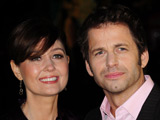 Zack Snyder and Deborah Snyder