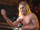Iggy Pop and The Stooges Get Loaded in The Park held at Clapham Common