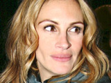 Julia Roberts leaving her Manhattan hotel